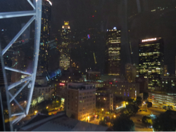 Atlanta by night from the Skyview wheel