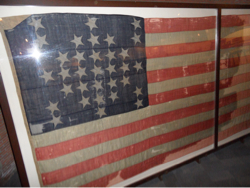 Original flag over Fort Sumter 12 juli 1861