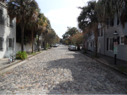Straat in Charleston