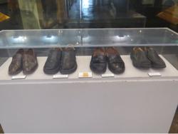 Schoenen gedragen door leiders tijdens de March on Washington