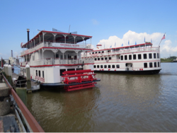 Raderboat in Savannah River